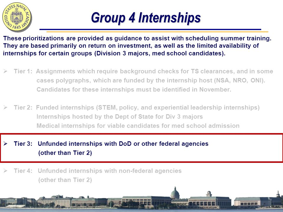Group 4 Internships
