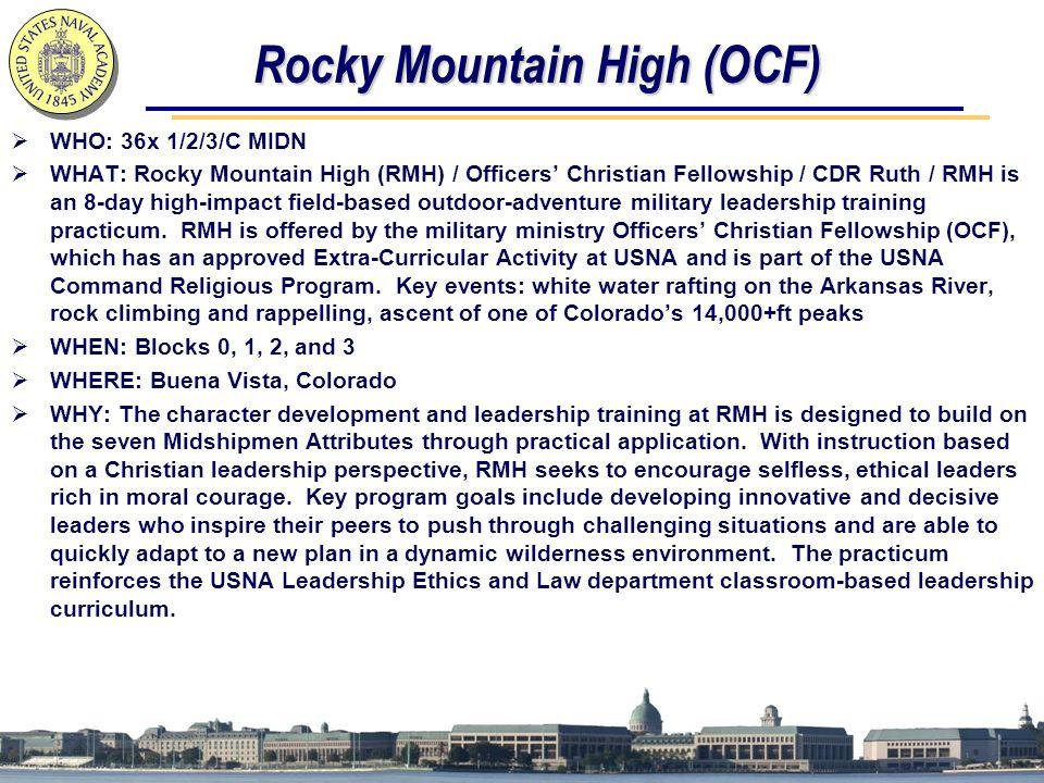 Rocky Mountain High (OCF)