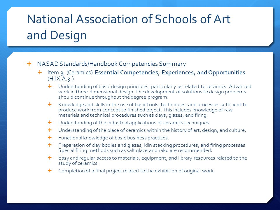 National Association of Schools of Art and Design