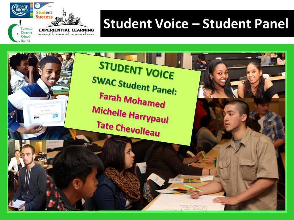 Student Voice – Student Panel