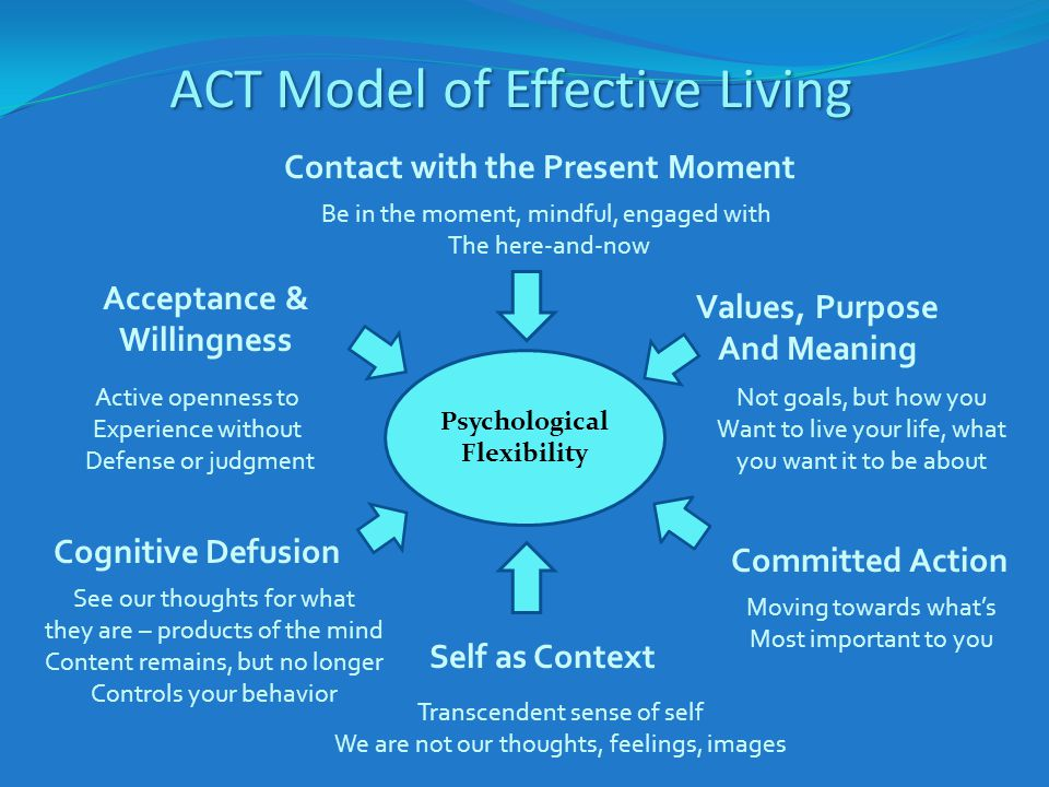 ACT Model of Effective Living