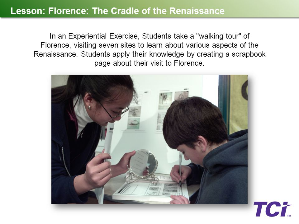 Lesson: Florence: The Cradle of the Renaissance
