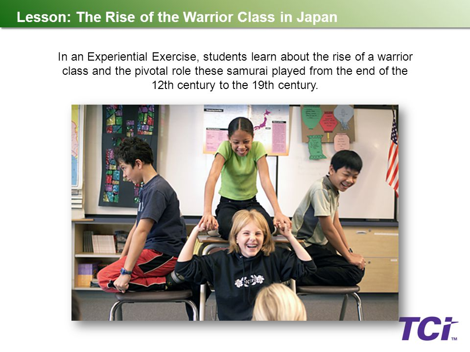 Lesson: The Rise of the Warrior Class in Japan