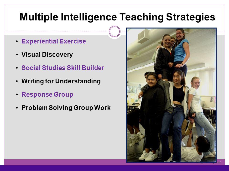 Multiple Intelligence Teaching Strategies