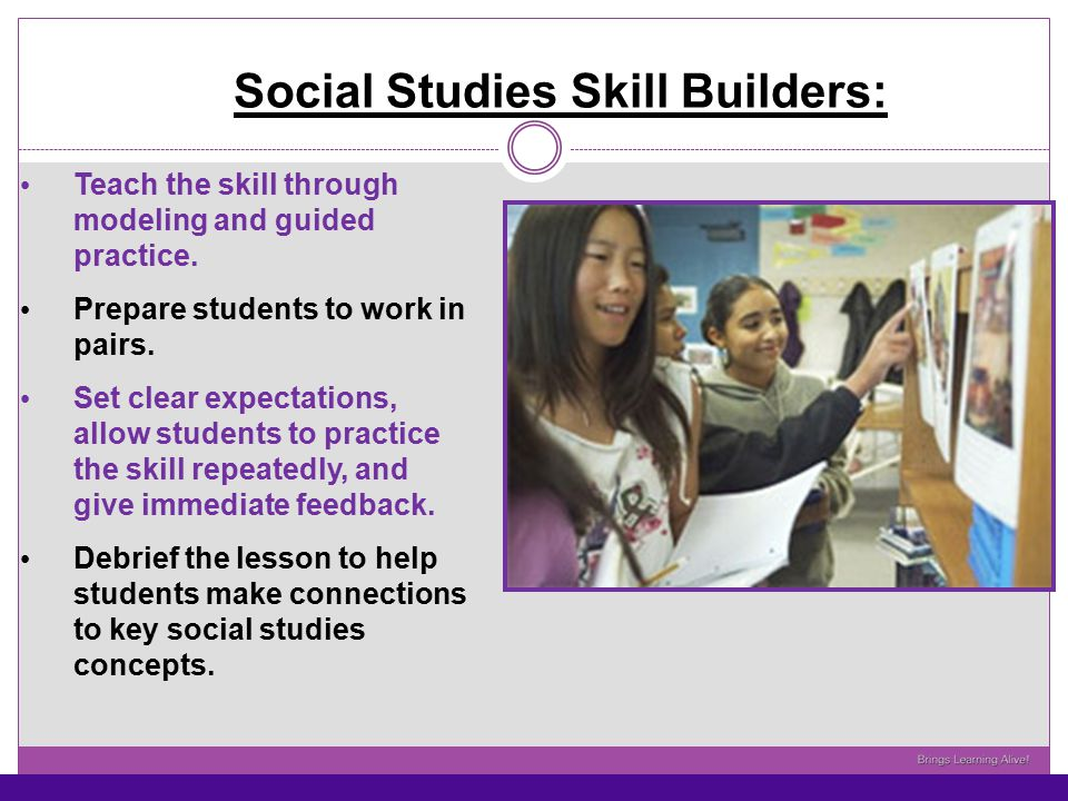 Social Studies Skill Builders:
