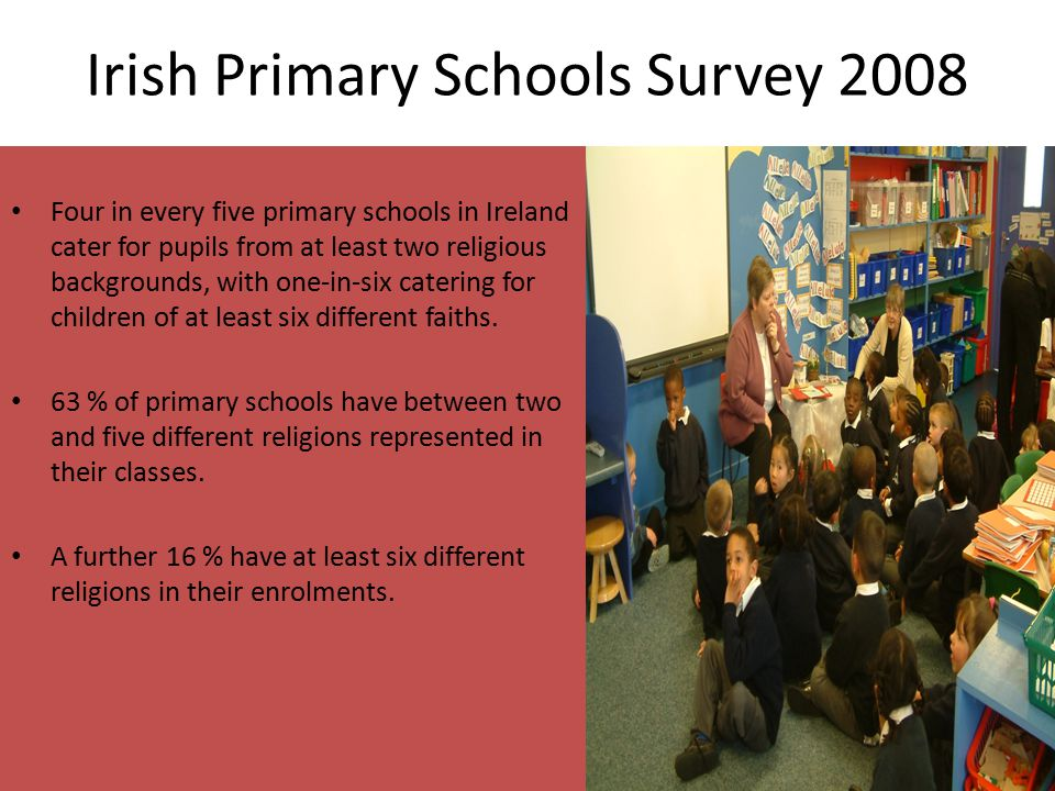 Irish Primary Schools Survey 2008