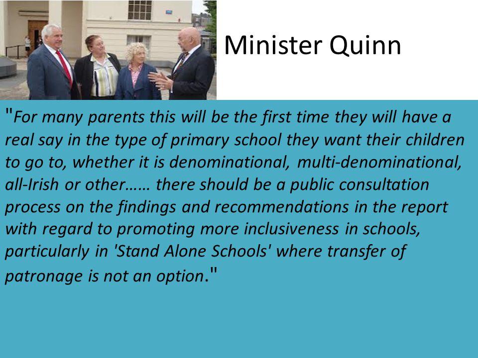Minister Quinn
