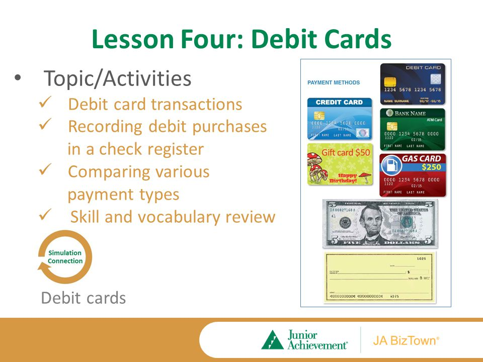 Lesson Four Application Activities Extension Activities