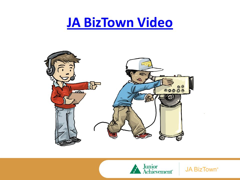 JA BizTown Curriculum Basics