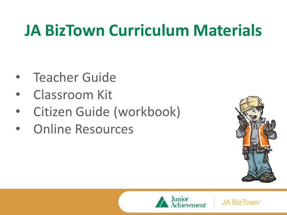 JA BizTown Classroom Kit