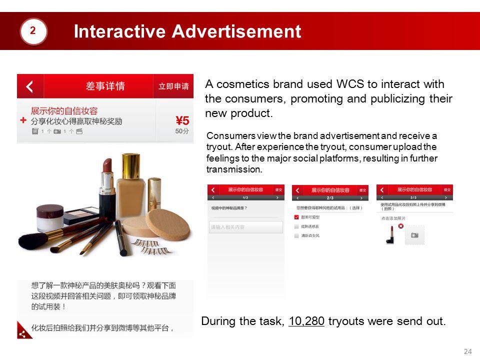 Interactive Advertisement