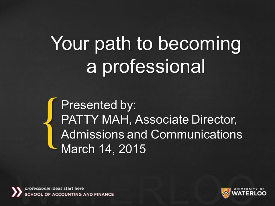 Your path to becoming a professional