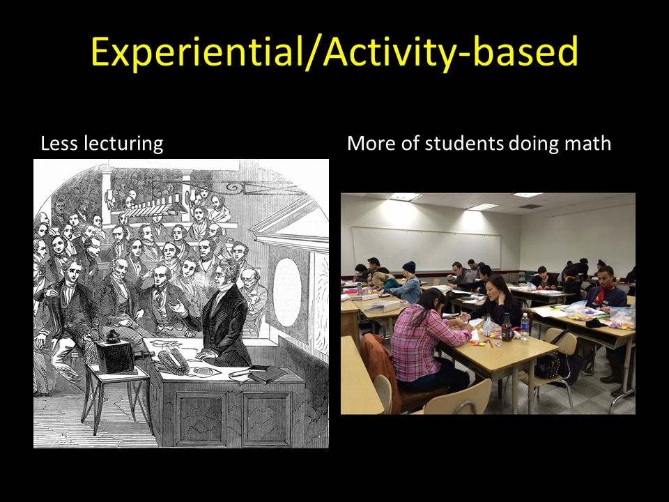 Experiential/Activity-based