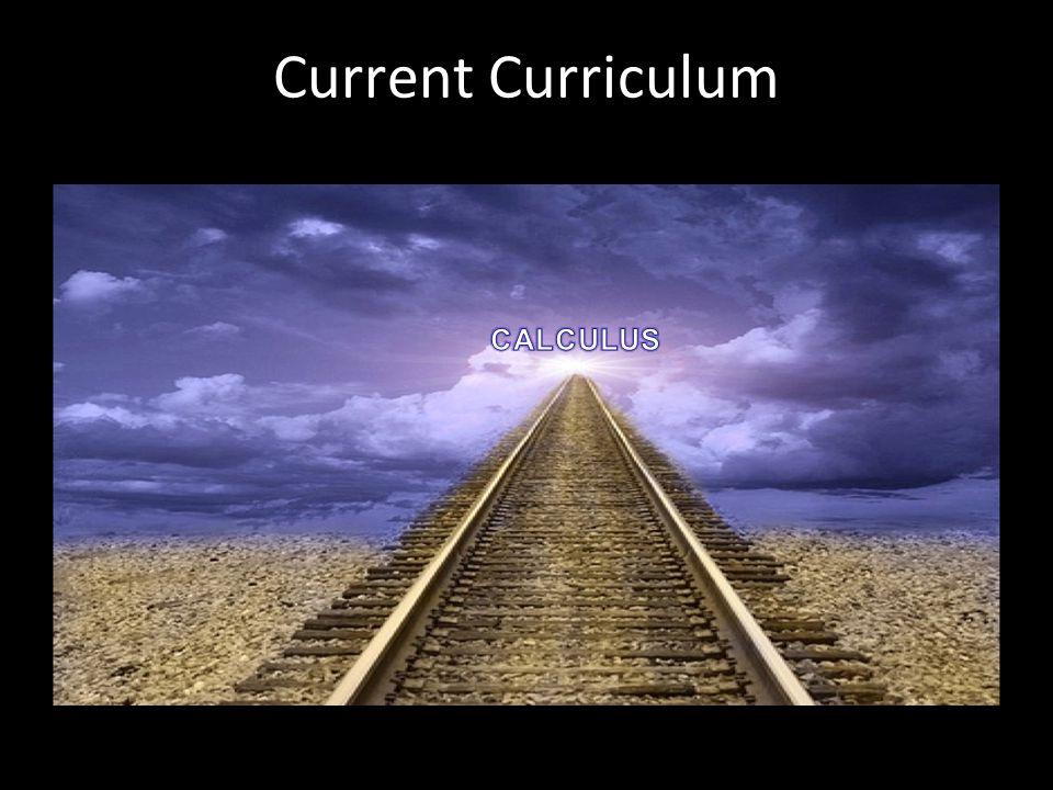 Current Curriculum CALCULUS Roger