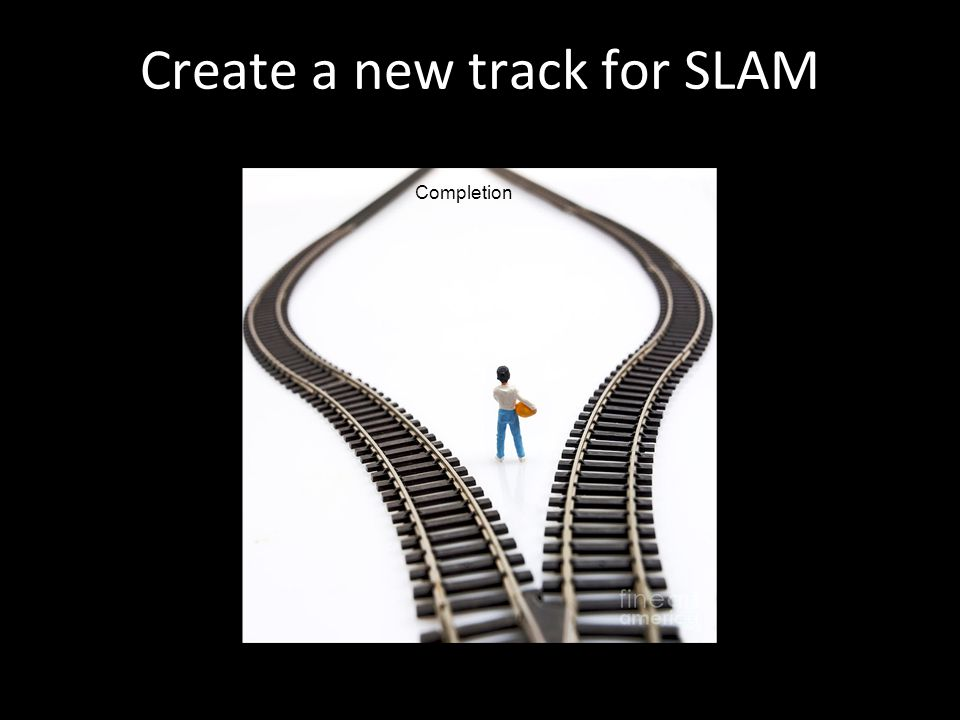 Create a new track for SLAM