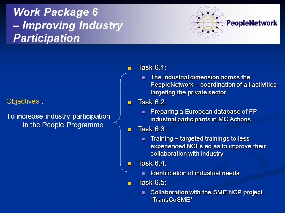 – Improving Industry Participation