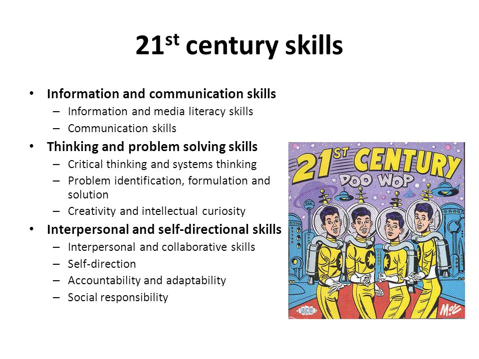 21st century skills Information and communication skills