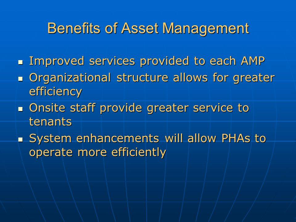 Benefits of Asset Management