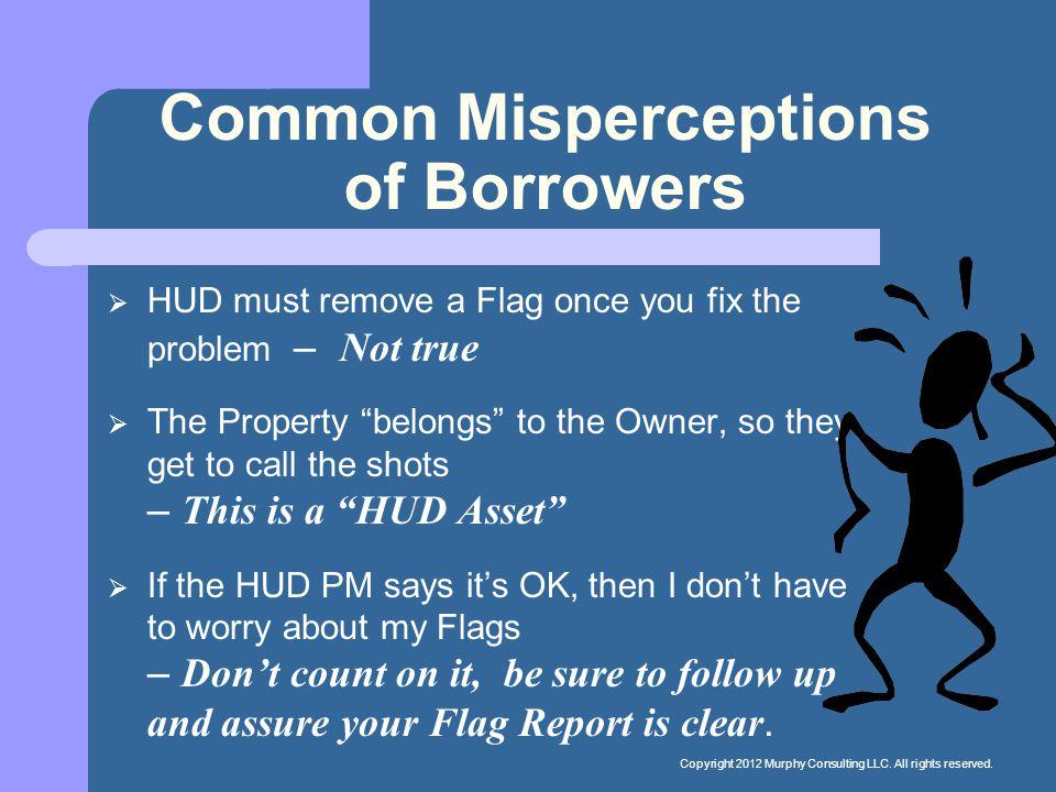 Common Misperceptions of Borrowers