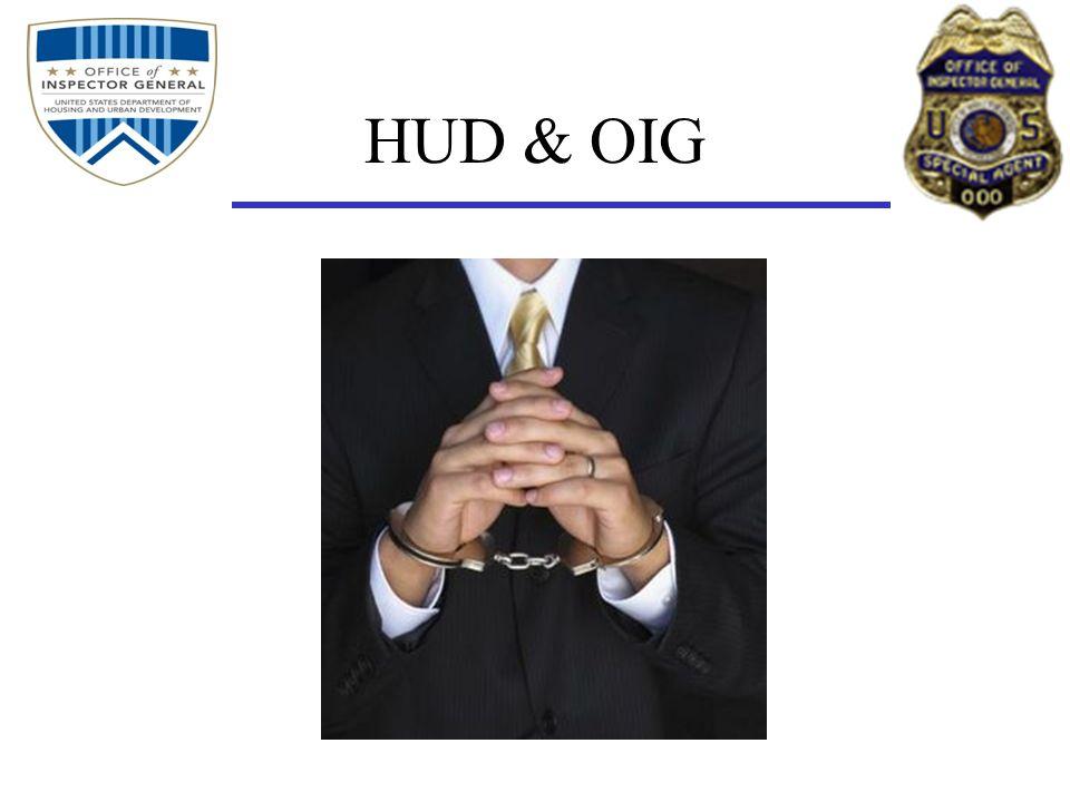 HUD & OIG