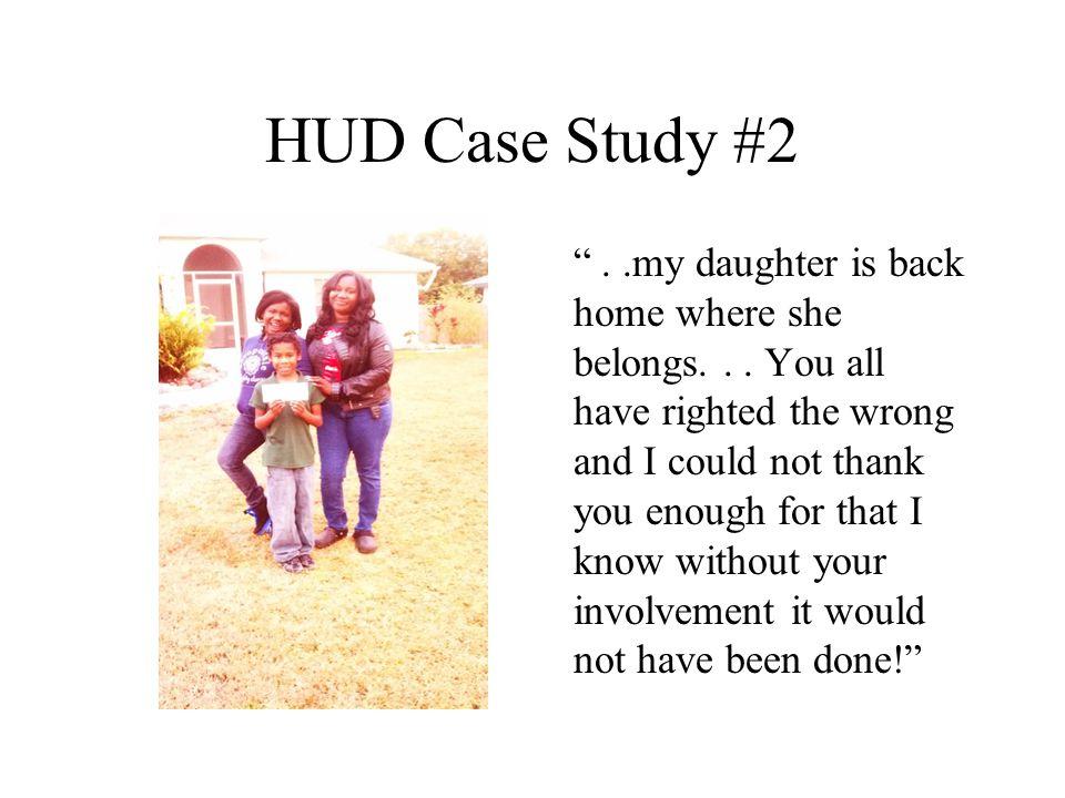 HUD Case Study #2