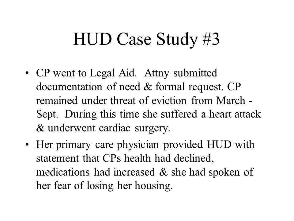 HUD Case Study #3