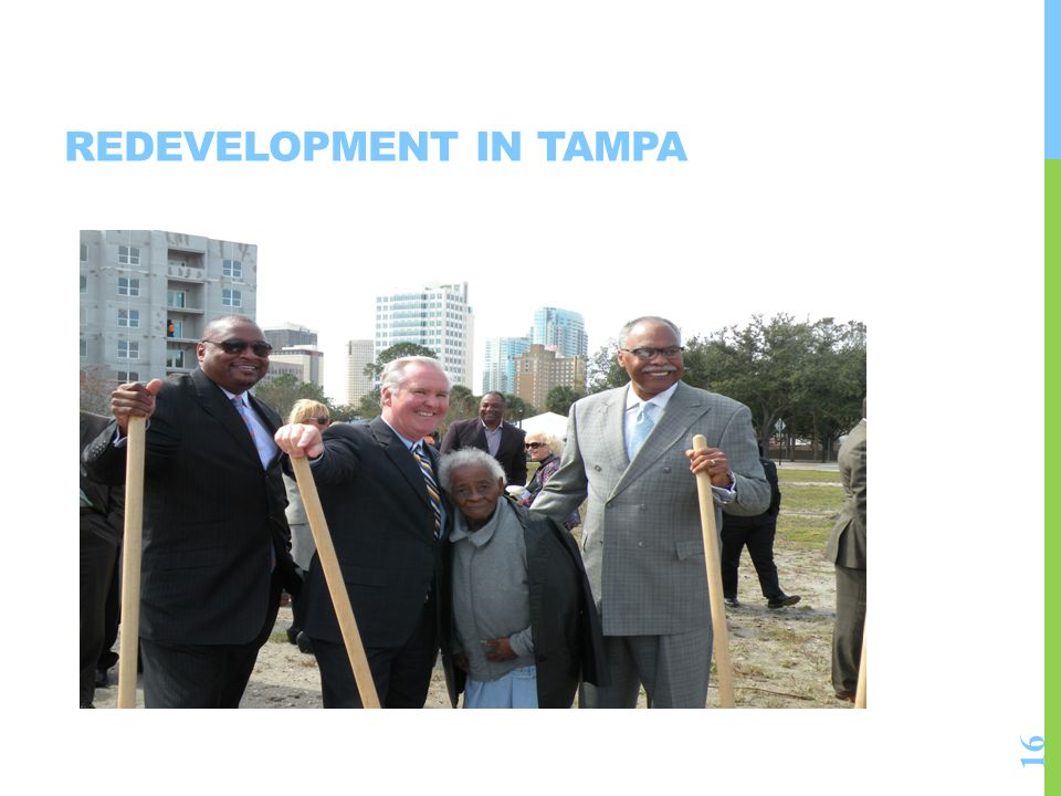 Redevelopment in Tampa