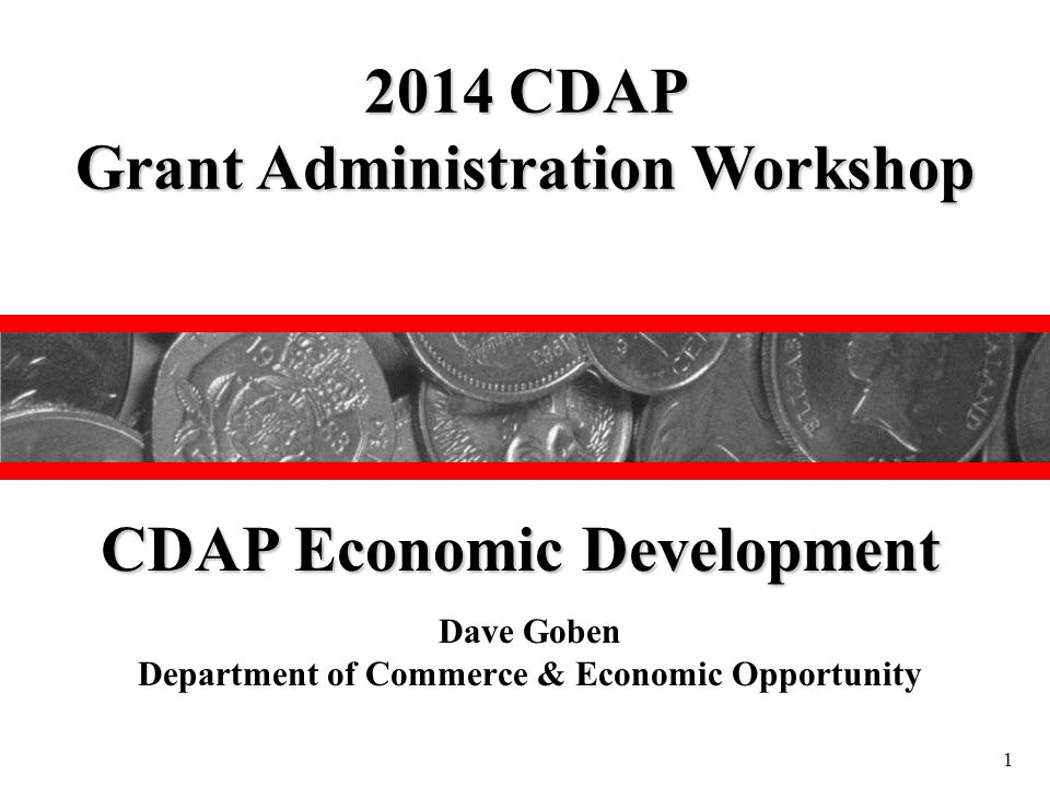 CDAP Economic Development