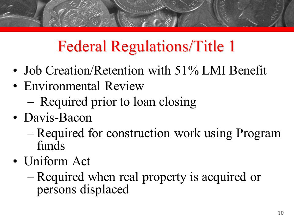 Federal Regulations/Title 1
