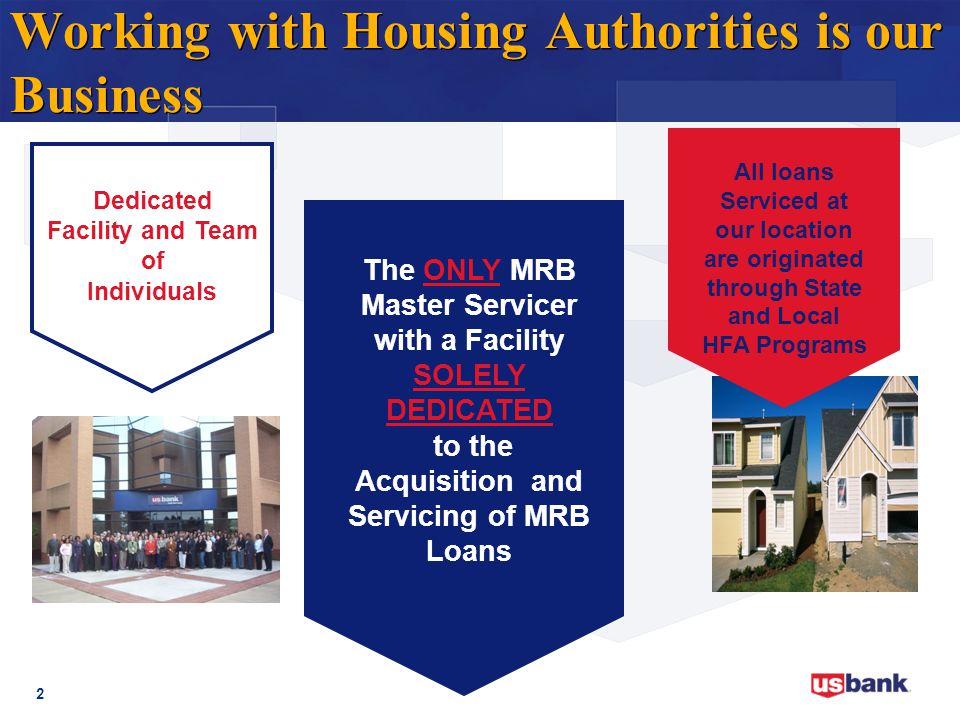 Working with Housing Authorities is our Business