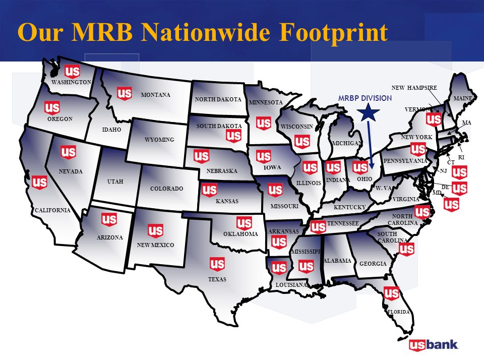 Our MRB Nationwide Footprint