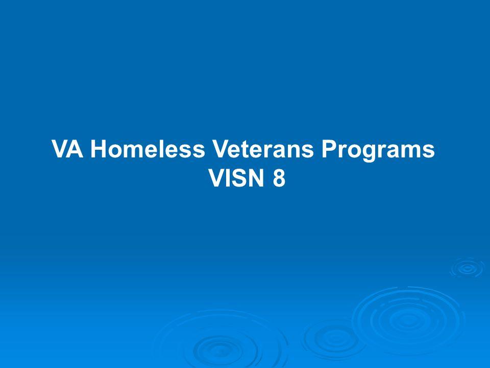VA Homeless Veterans Programs