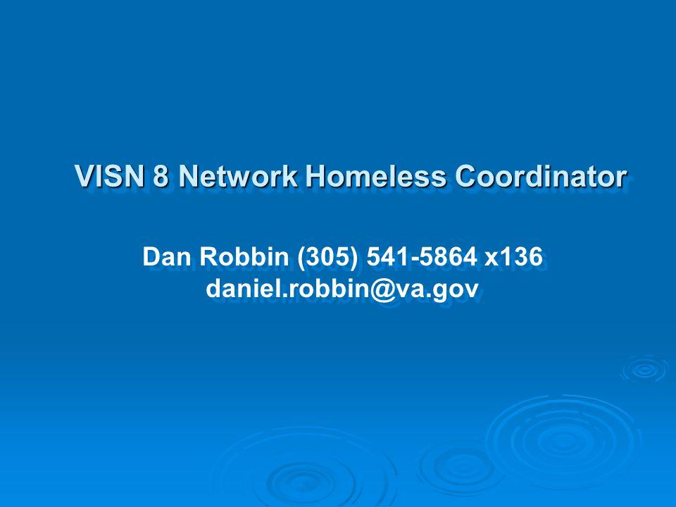 VISN 8 Network Homeless Coordinator