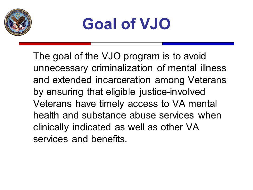 Goal of VJO