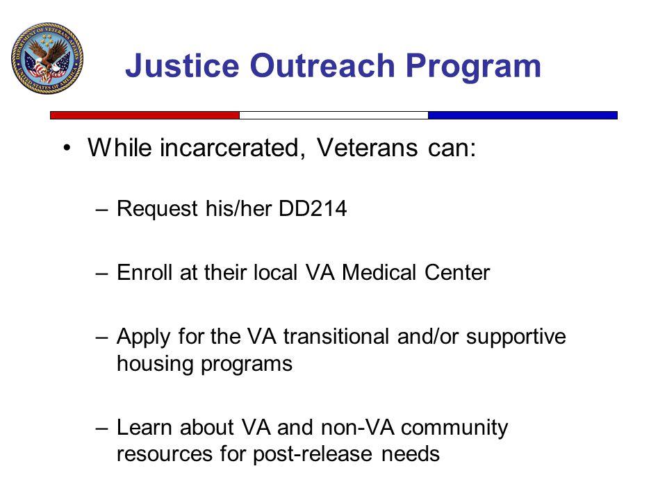 Justice Outreach Program