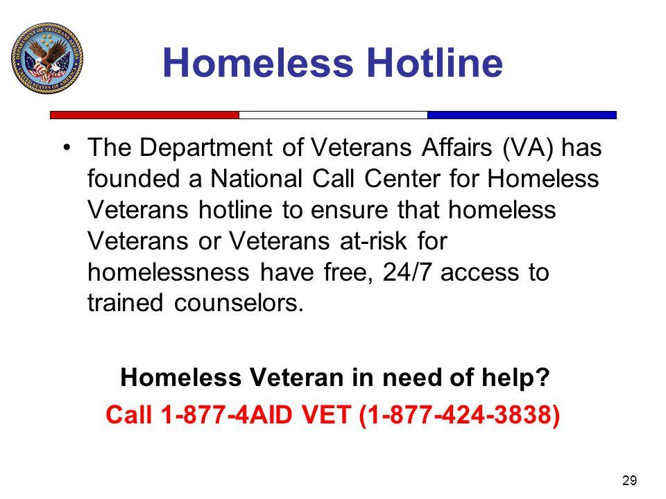 Homeless Hotline
