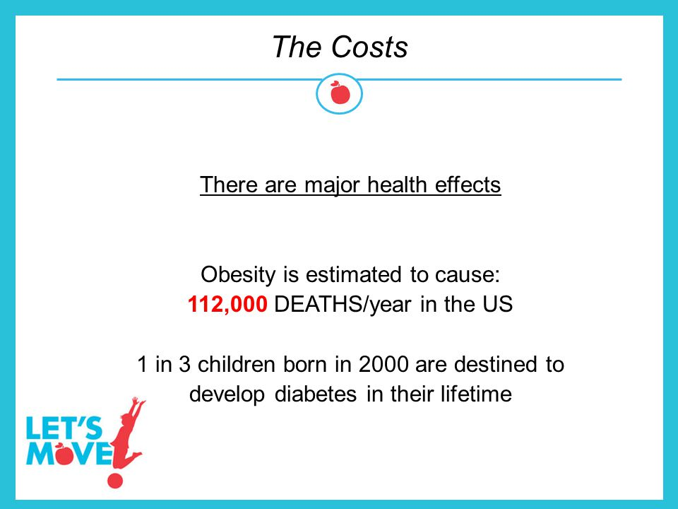 The Costs There are major health effects