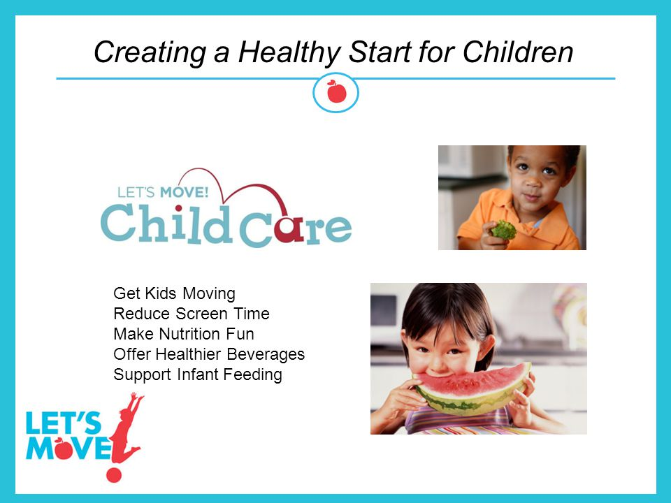 Creating a Healthy Start for Children