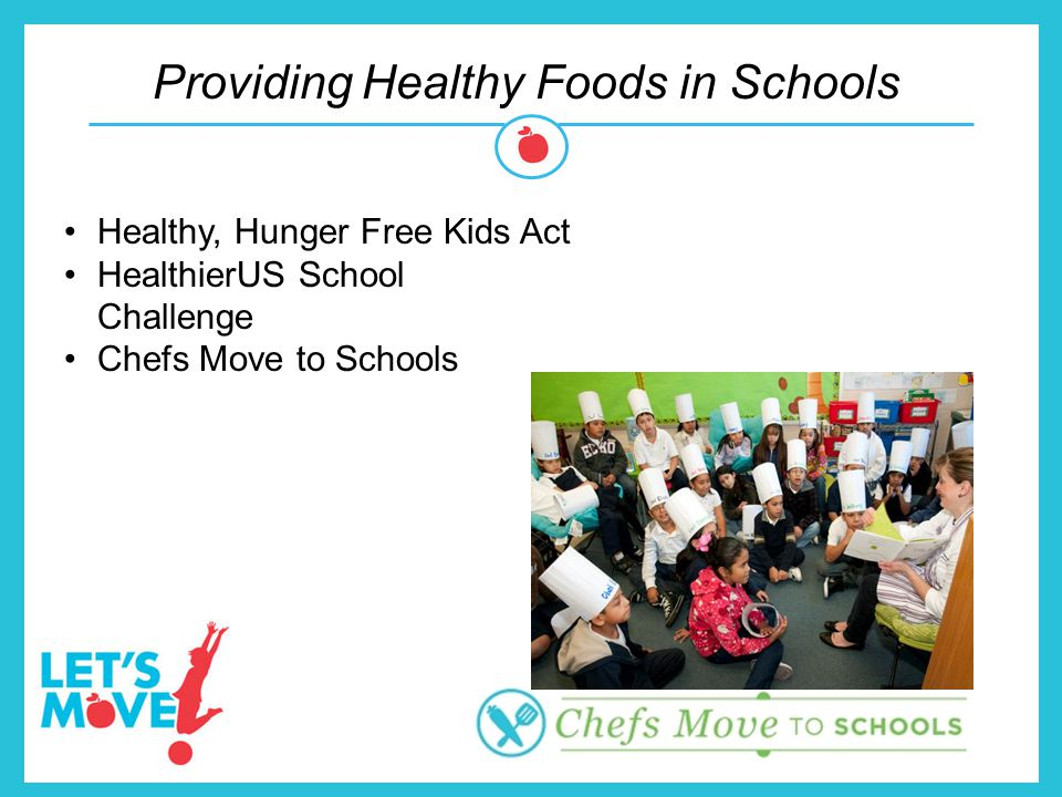 Providing Healthy Foods in Schools