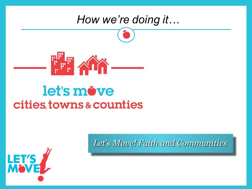 Let's Move! Faith and Communities