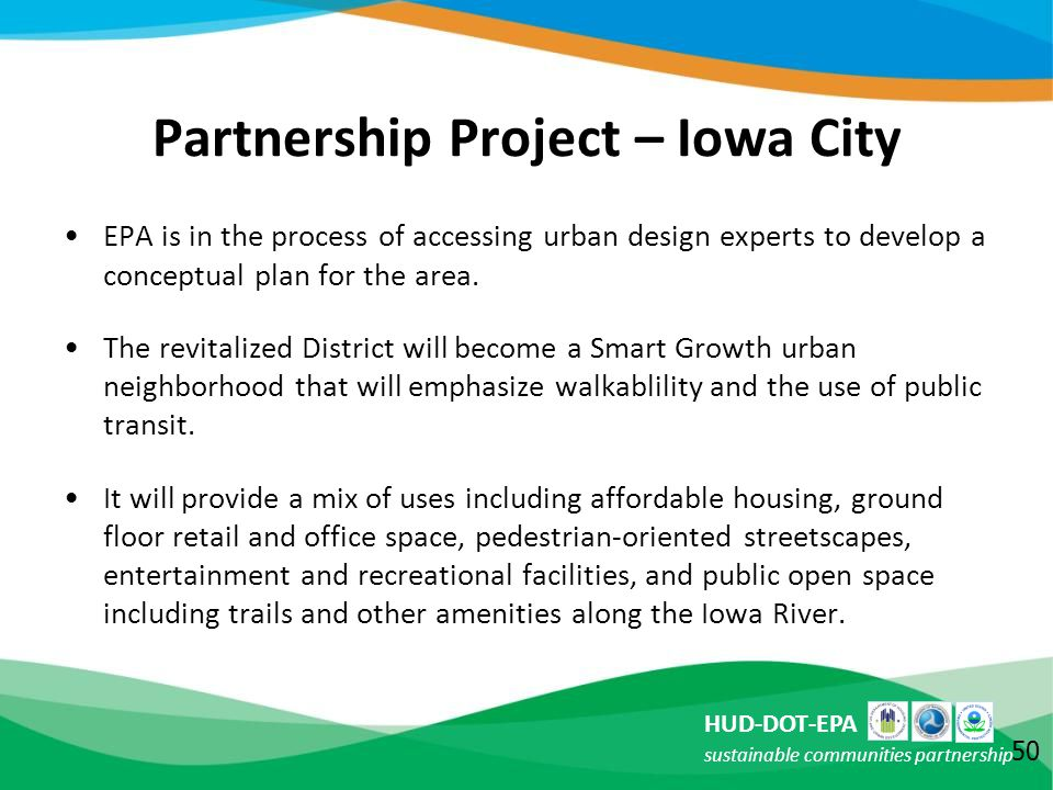 Partnership Project – Iowa City