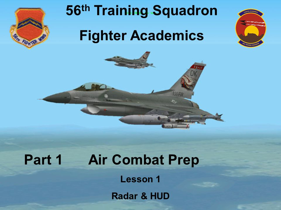 56th Training Squadron Fighter Academics