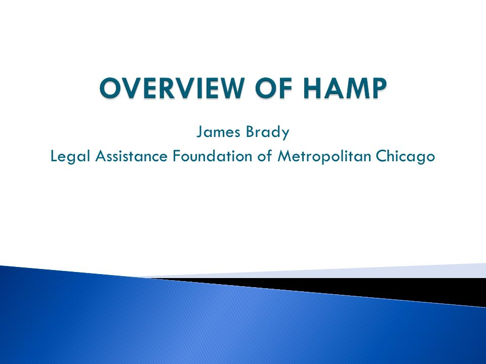 James Brady Legal Assistance Foundation of Metropolitan Chicago