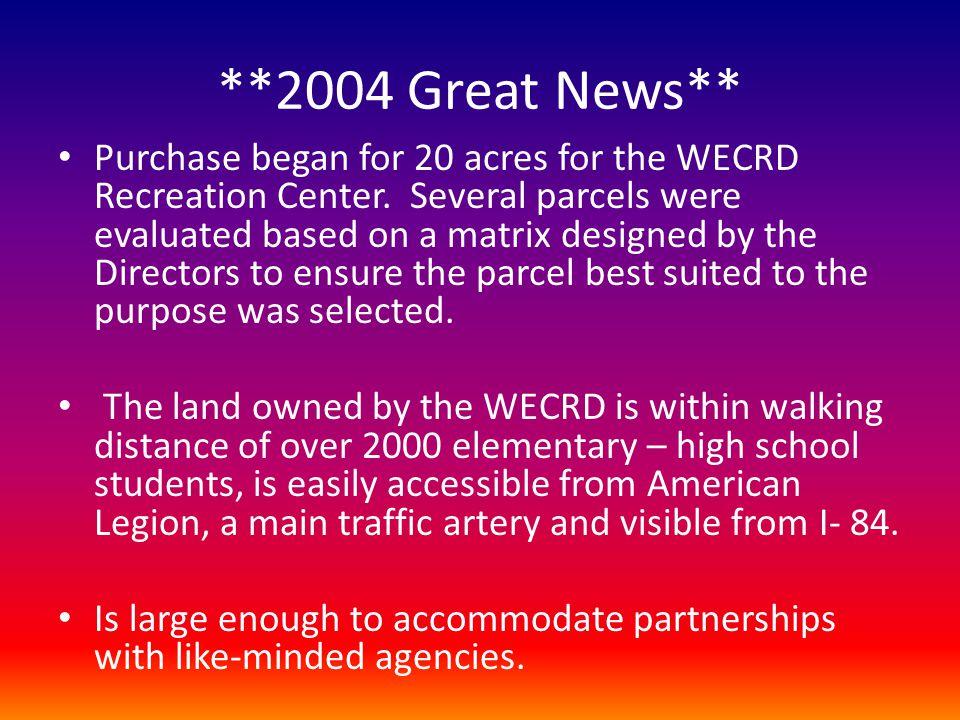 **2004 Great News**