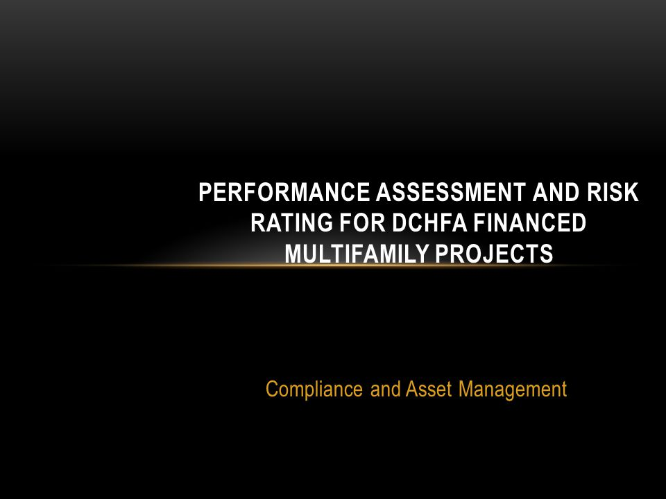 Compliance and Asset Management