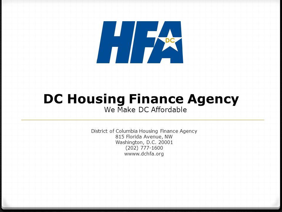 DC Housing Finance Agency