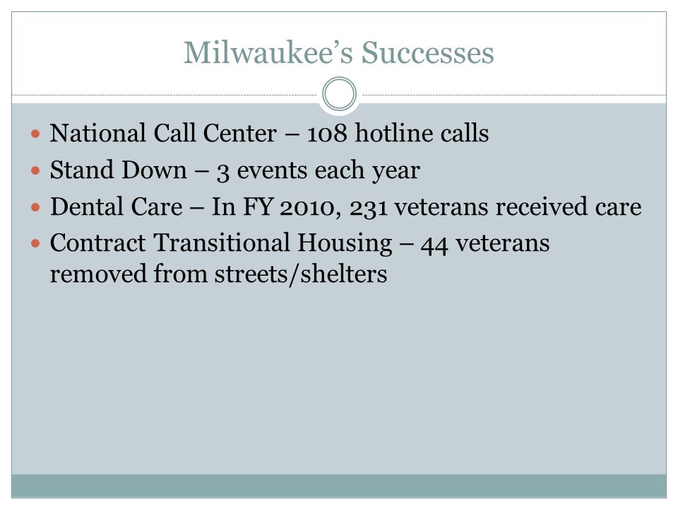 Milwaukee's Successes
