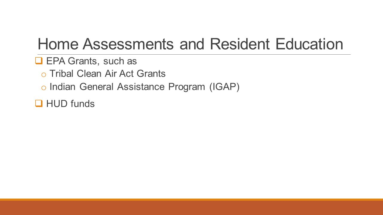 Home Assessments and Resident Education