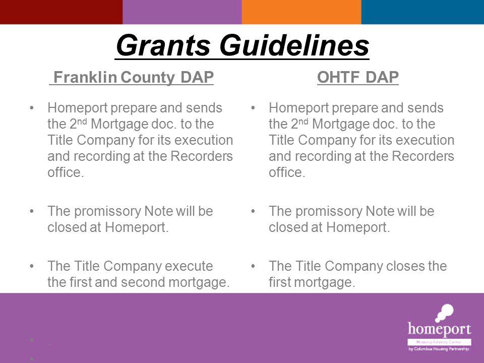 Franklin County DAP OHTF DAP