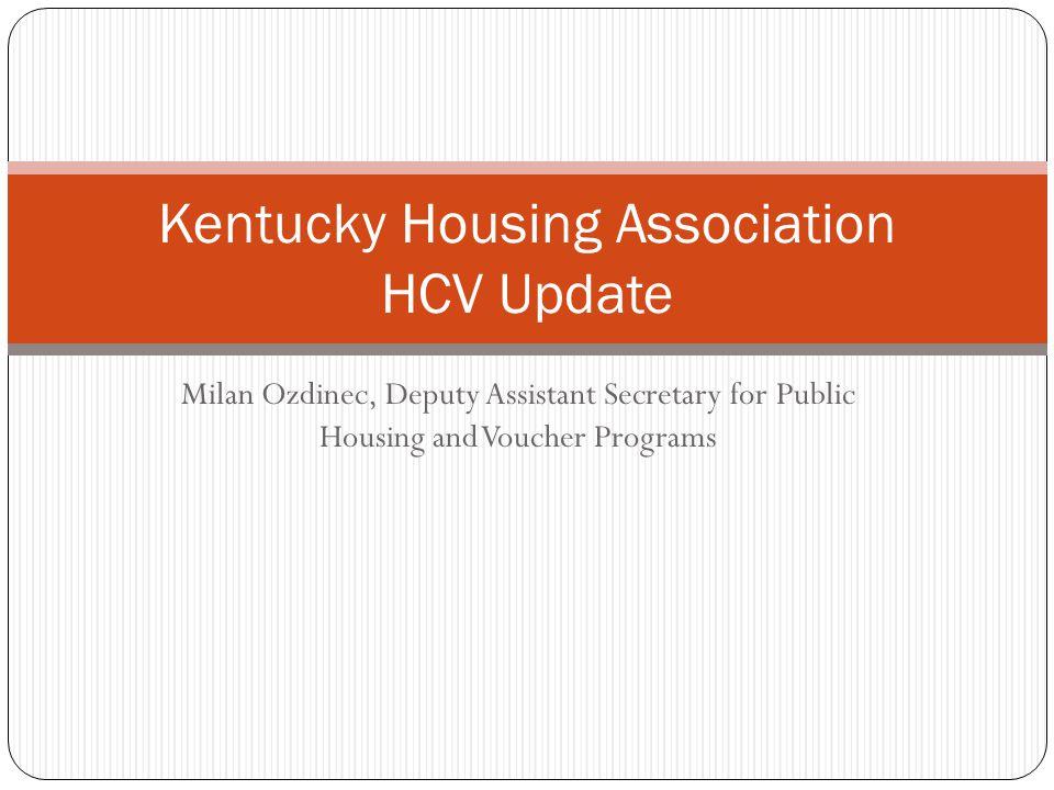 Kentucky Housing Association HCV Update